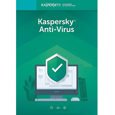 Kaspersky Anti-Virus 2016 - 2019  1 ANNO   4  PC MAC ANDROID nuovo SUPEROFFERTA
