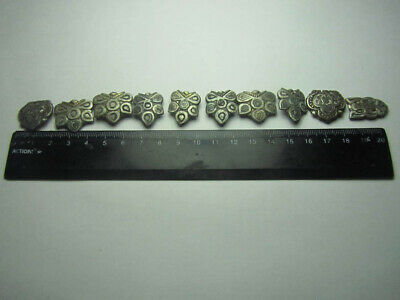 Ancient Belt set,Medieval silver Belt set. Metal detector finds 100% original
