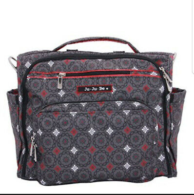 Ju-Ju-Be B.F.F. Diaper Bag Magic Merlot JuJuBe BFF Baby Travel Ju Ju Be