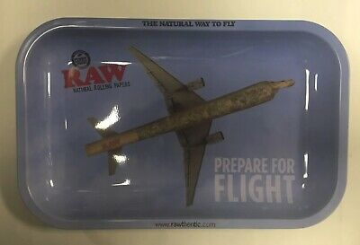 Rolling  Raw Paper Small Size Combo Tray  Flight Raw Tray