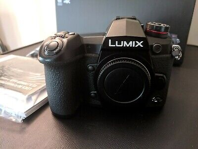 Panasonic Lumix G9 DC-G9Body Only - MINT - used once 284 shots - Sony A9 Rival