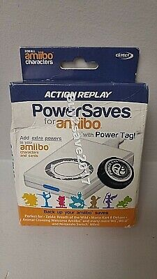 New Datel Action Replay PowerSaves w/ Power Tag for Amiibo Characters