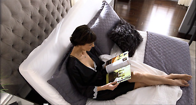 """Queen L&P S-Cape 2.0 Furniture Style adjustable bed, 9"""" 100% Talalay mattress"""