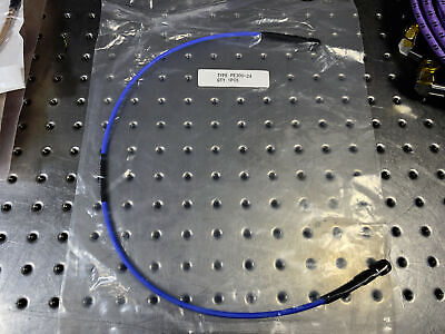 """New Pasternack 18GHz 160 Series Coax Microwave Patch Cable SMA M/M 24"""""""