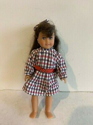 "American Girl Mini Samantha, AMERICAN GIRL MINI 6"" DOLL with outfit"