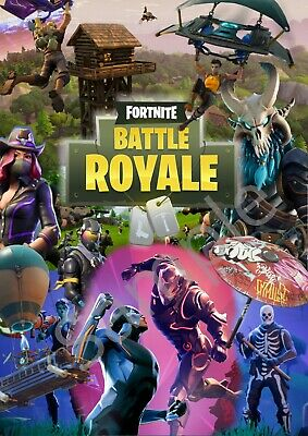 A2 Fortnite Poster LARGE Pre-Printed Gaming Wall Art High Quality
