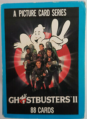 Ghostbusters 2 Collecters Card Set - COMPLETE