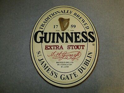 Guiness Wood Sign