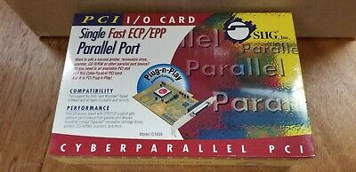 SIIg Inc. Single Fast ECP/EPP Parallel Port Pci I/O Card New Sealed Fast Shippin