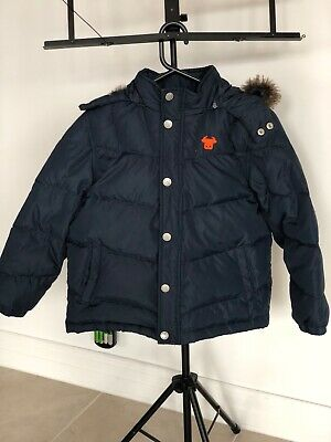 Giordano Junior Boys / Girls Warm Feather Down Puffer Size  7-8 Years Old