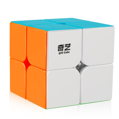 Rubiks 2x2 Speed Cube Stickerless Puzzle Cube