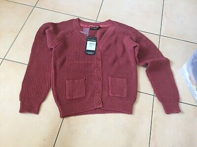 Rock Your Baby Rust Slouch Cardigan   Sz 6 Bnwt Rrp $59.95