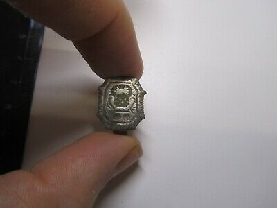 Ancient silver    Ancient ring  Metal detector finds 100% original