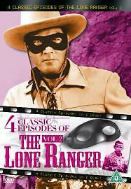 The Lone Ranger volume 2 - 4 classic episodes - Region 0 DVD