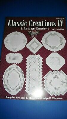 Classic Creations in Hardanger Embroidery 4 Meier & Watnemo Sylvia Muir no.208