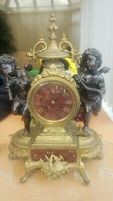 Antique French Mantle Clock 8Day with chime