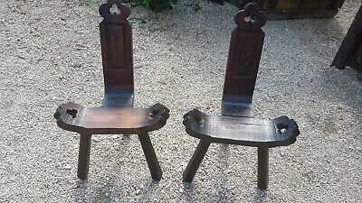 Pair Of Milking Stools
