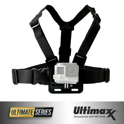 Chest Body Strap Mount Adjustable Belt Accessory for ALL GoPro Hero 7 6 5 4 3+ 3