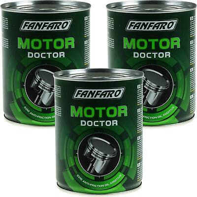 3x 350ml Öl Additiv Fanfaro Motor Doctor Oil Additive Verschleißreduzierung