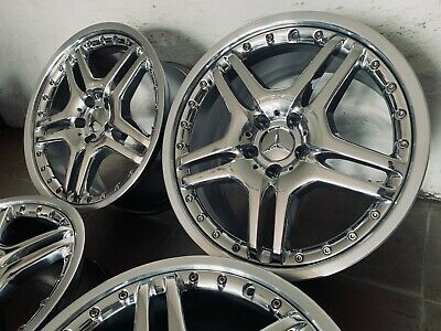 "AMG Rims 19 "" Mercedes R230 W211 High Gloss Compacted Sl65 Sl55 E63 E55 C55"