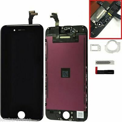 Touch Screen LCD Display Retina x APPLE IPHONE 6  6G  Vetro Schermo NERO + FRAME
