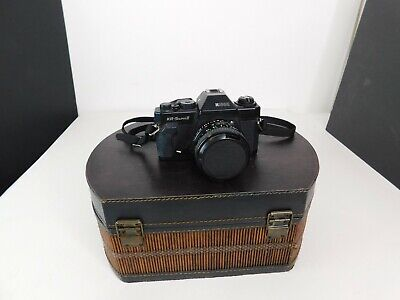 Ricoh KR-5 SUPER II 35mm SLR Camera With Lens Not Tested