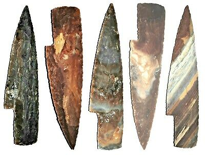 "6"" TO 7""  Flint/stone knife blade Arrowhead Spearhead Chert  bow HUNTING Texas"