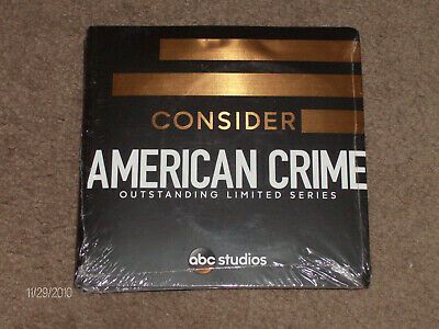 """American Crime"" Brand NEW ABC Series! Complete Season 2! RARE 3 DVD set! RARE!"