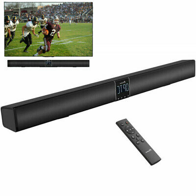 FOXNOVO 40W TV Sound Bar Speaker with Bluetooth Optical Audio Wall Mountable