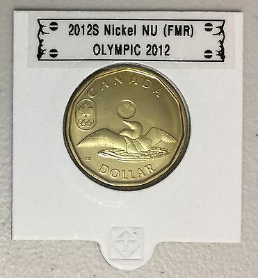 CANADA 2012 New 1$ LUCKY LOONIE Olympic 2012 (BU directly from mint roll)