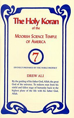 The Holy Koran Of The Moorish Science Temple Of America