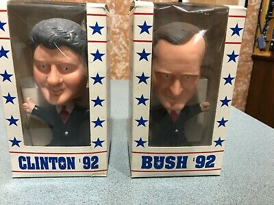 Bush & Clinton BOBBLEHEADS  FROM 1992
