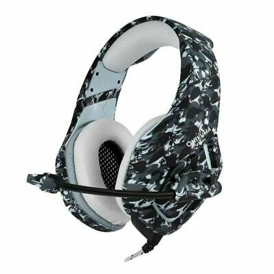 LED Headphone Mic Gaming Headset Surround for PC Laptop PS4 Slim Xbox One 360