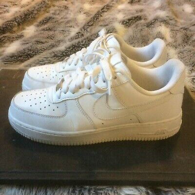 factory price c4480 92ed9 Nike Air Force 1 - AF1 - White - Size UK 8 - great condition