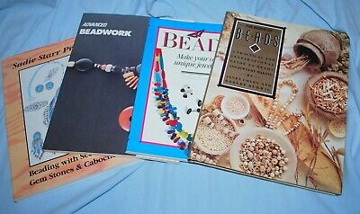 Lot of 4 Bead Making Books - Great Condition - One Price buys ALL