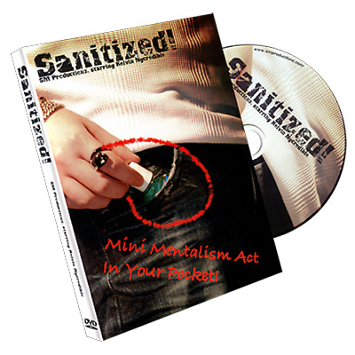 Sanitized (With Gimmicks) by Kelvin Ngcredible and SansMinds - Magic Tricks