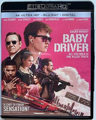 Baby Driver 4K Ultra Hd Blu Ray 2 Disc Set Free World Wide Shipping Buy It Now