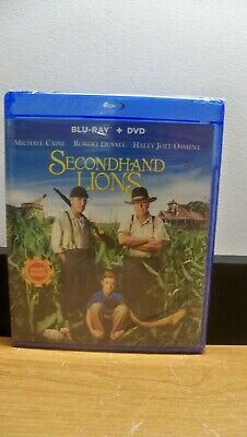 New Duvall Caine Secondhand Lions Special Edition  2 Disc Blu Ray Dvd Free S&H