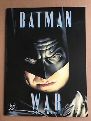 Batman- War On Crime by Paul Dini, art and cover by Alex Ross DC VF