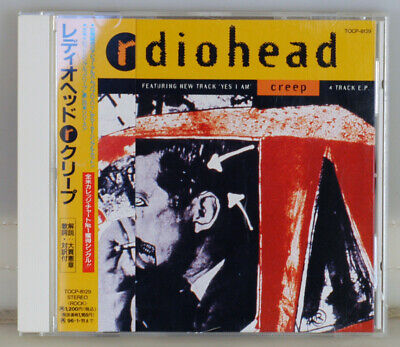Radiohead. Creep. Japan 1994 Cd Single. Tocp-8129