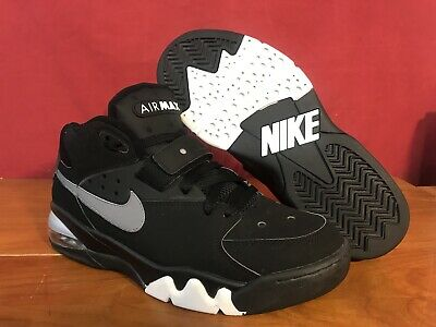 buy online d3527 f4059 2006 Nike Air Force Max CB34 Charles Barkley Blk Slvr Wht 315065-001