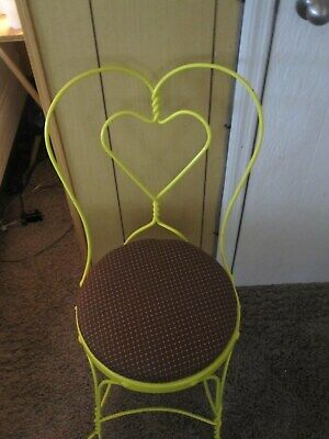 vintage ice cream parlor chair/1950s refurbished