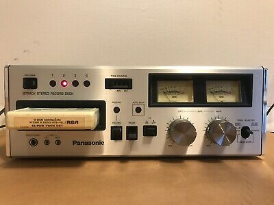 Panasonic RS-808 8 Track Tape Deck Player Recorder