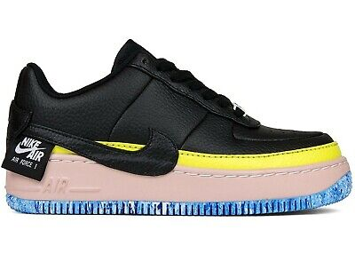 info for f98ac 325c9 Nike Air Force One 1 Jester XX SE Black Yellow Artic Orange Pink Blue UK  size