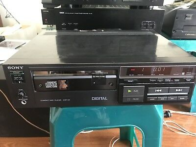 Sony CDP-101 CD Player Very Rare