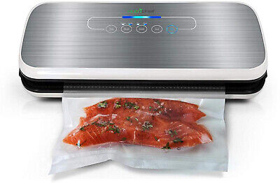 Vacuum Sealer By NutriChef | Automatic Vacuum Air Sealing System For Food w/ |
