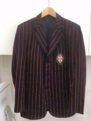 Size 18 St Michael's Grammar School Boys Winter Uniform Blazer SMGS Good Cond