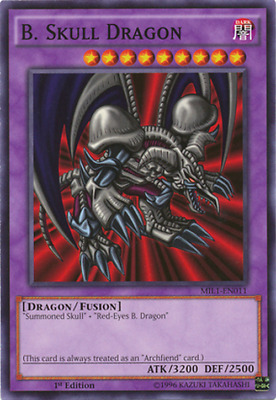 Yugioh Red-Eyes B Dragon Deck 44 Cards Skull Darkness Metal Free Pack Hard Case!