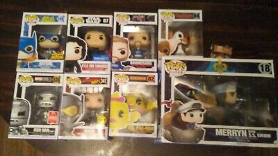 Funko POP! 8 funko lot. Chase / Summer Convention Exclusive / ECT