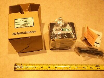 Oriental Motor 5GU25KA Gear Head New In Box Fast Free Shipping